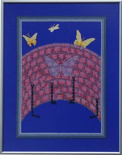 16A Borduurpatroon Kruissteken Embroidery pattern Cross-stitches Vrijheid