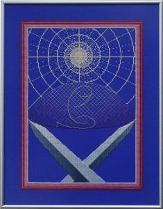 17A Borduurpatroon Kruissteken Embroidery pattern Cross-stitches Veiligheid