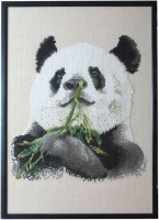 1A Borduurpatroon Kruissteken Embroidery pattern Cross-stitches Panda
