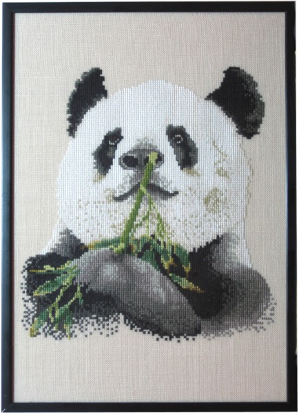 1A Borduurpatroon Kruissteken Embroidery pattern Cross-stitches Panda
