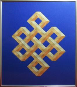 22A Borduurpatroon Kruissteken Embroidery pattern Cross-stitches Shrivasta A
