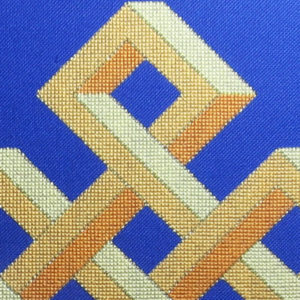 22B Borduurpatroon Kruissteken Embroidery pattern Cross-stitches Shrivasta A