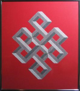 23A Borduurpatroon Kruissteken Embroidery pattern Cross-stitches Shrivasta B