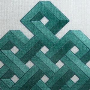 24B Borduurpatroon Kruissteken Embroidery pattern Cross-stitches Shrivasta C