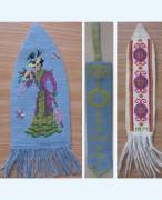 302C Borduurpatroon Kruissteken Embroidery pattern Cross-stitches Boekenleggers 1