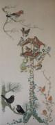 310A Borduurpatroon Kruissteken Embroidery pattern Cross-stitches vogelhuisje