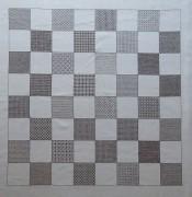 315A Borduurpatroon Kruissteken Embroidery pattern Cross-stitches Schaakbord