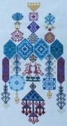 320A Borduurpatroon Kruissteken Embroidery pattern Cross-stitches Alla Turca