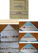 325A Borduurpatroon Kruissteken Embroidery pattern Cross-stitches Baby's