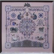 327C Borduurpatroon Kruissteken Embroidery pattern Cross-stitches Castles in the air