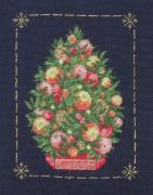 330A Borduurpatroon Kruissteken Embroidery pattern Cross-stitches Kerstboom