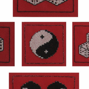 46B Borduurpatroon Kruissteken Embroidery pattern Cross-stitches Fortune A