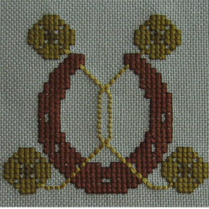 48B Borduurpatroon Kruissteken Embroidery pattern Cross-stitches Fortune C