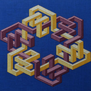 51B Borduurpatroon Kruissteken Embroidery pattern Cross-stitches VincentB