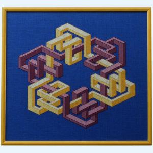 51C Borduurpatroon Kruissteken Embroidery pattern Cross-stitches VincentB