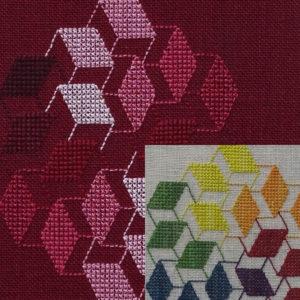 56B Borduurpatroon Kruissteken Embroidery pattern Cross-stitches Vincent G