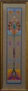 69A Borduurpatroon Kruissteken Embroidery pattern Cross-stitches Iris B