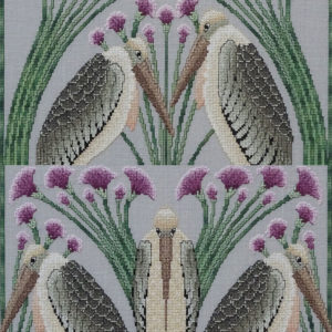 75B Borduurpatroon Kruissteken Embroidery pattern Cross-stitches In and Out of Love