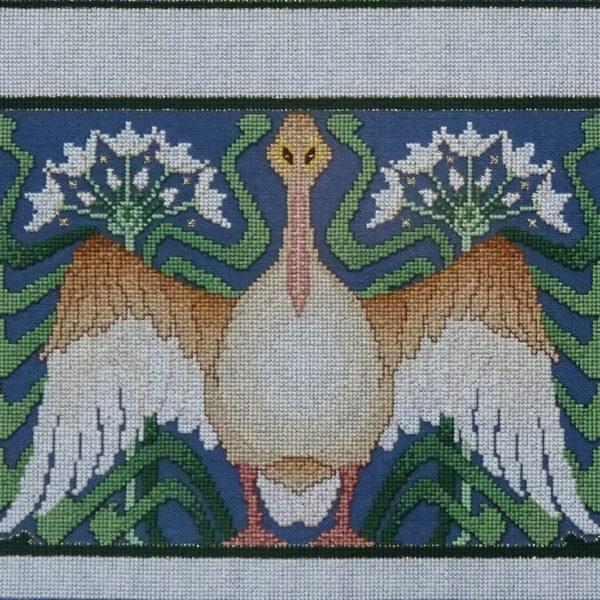 80B Borduurpatroon Kruissteken Embroidery pattern Cross-stitches Spring A