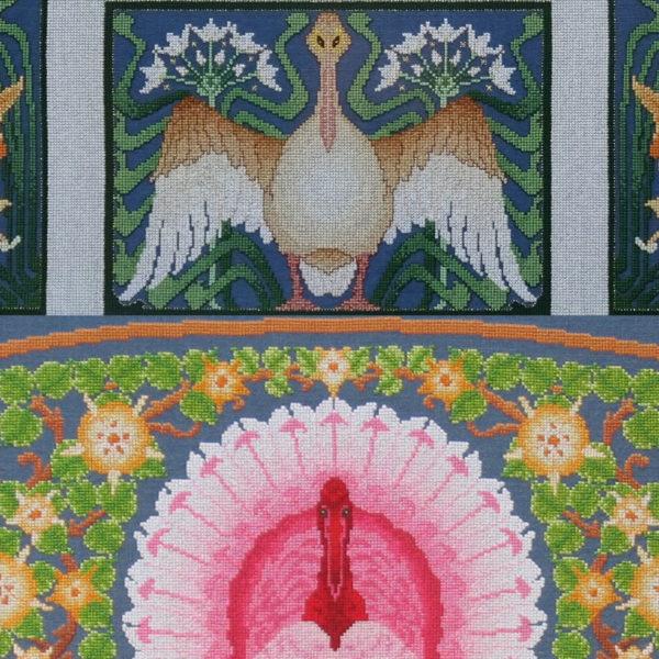 82B Borduurpatroon Kruissteken Embroidery pattern Cross-stitches Spring A and B