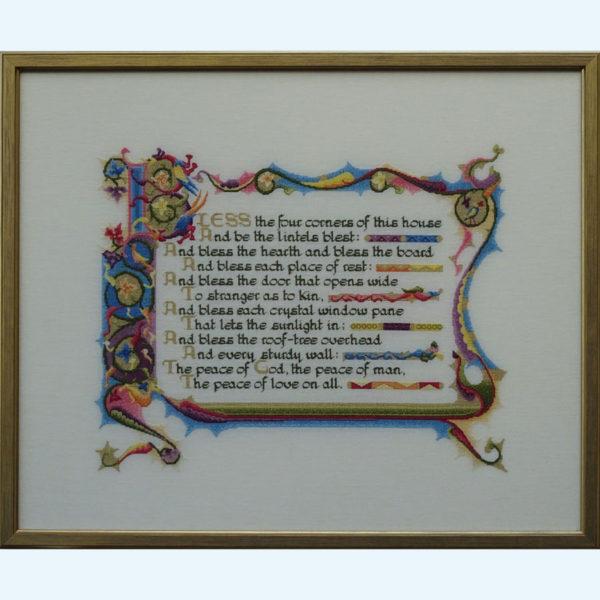 86C Borduurpatroon Kruissteken Embroidery pattern Cross-stitches Sint Joris