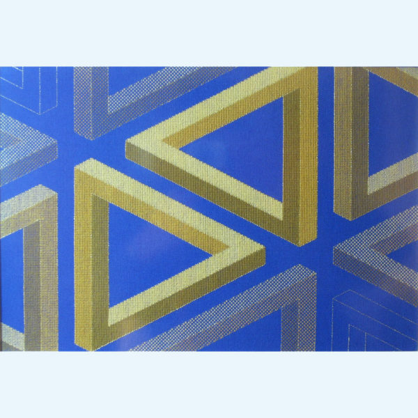8C Borduurpatroon Kruissteken Embroidery pattern Cross-stitches Pythagoras A