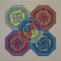 99 A Borduurpatroon Kruissteken Embroidery pattern Cross-stitches Specialstitches