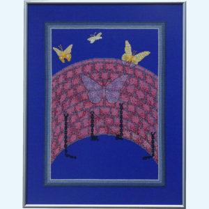 Borduurpatroon Kruissteken Embroidery pattern Cross-stitches Vrijheid