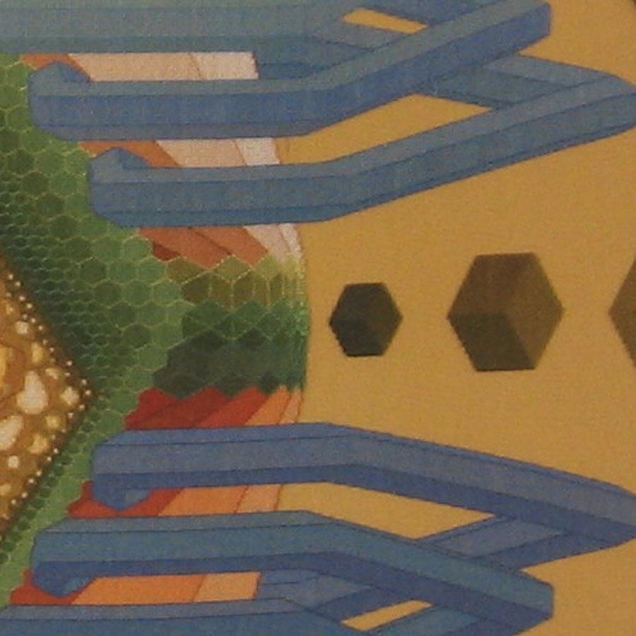 19B Borduurpatroon Kruissteken Embroidery pattern Cross-stitches Overcrowding
