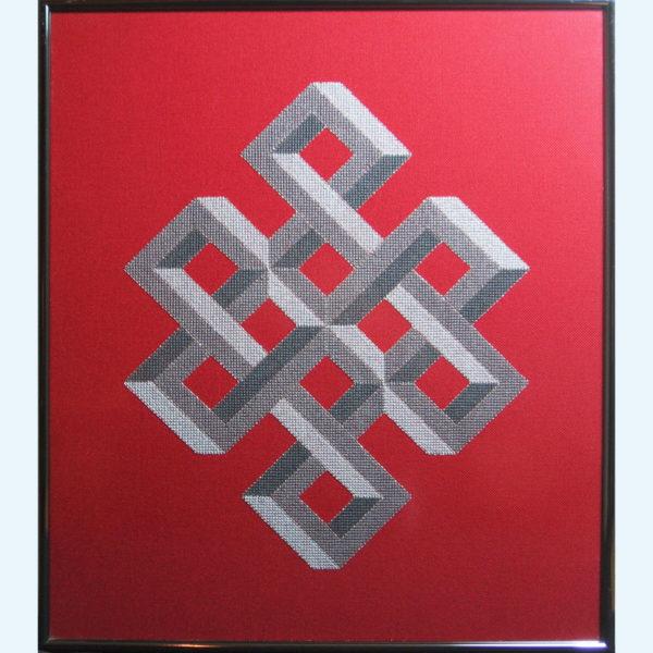 Borduurpatroon Kruissteken Embroidery pattern Cross-stitches Shrivasta B