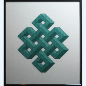 Borduurpatroon Kruissteken Embroidery pattern Cross-stitches Shrivasta C