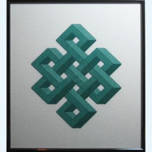 Borduurpatroon Kruissteken Embroidery pattern Cross-stitches Shrivasta C