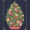 330A Borduurpatroon Kruissteken Embroidery pattern Cross-stitches Kerstboom