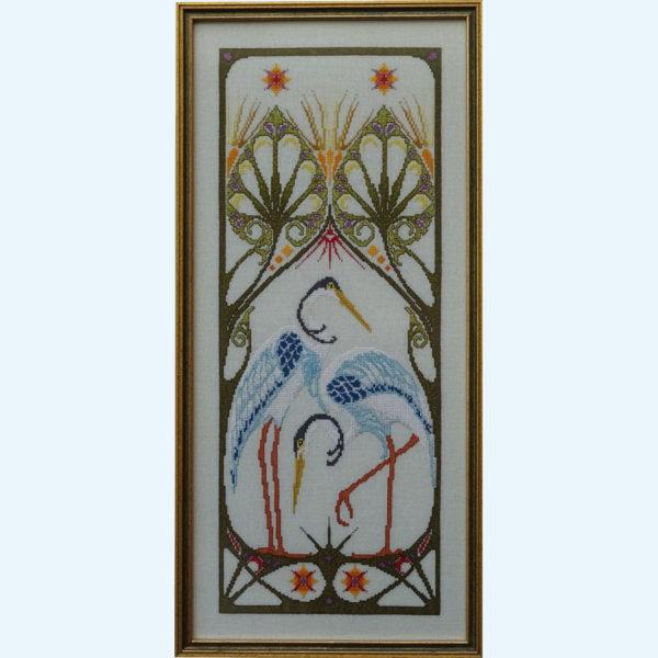 Borduurpatroon Kruissteken Embroidery pattern Cross-stitches Adriana A