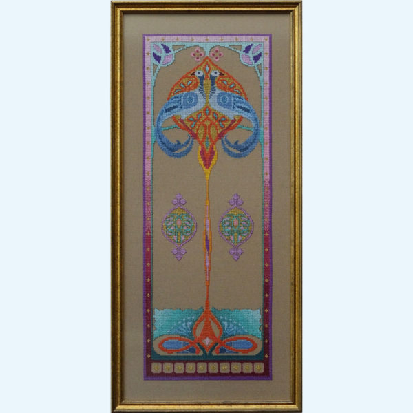 Borduurpatroon Kruissteken Embroidery pattern Cross-stitches Iris A