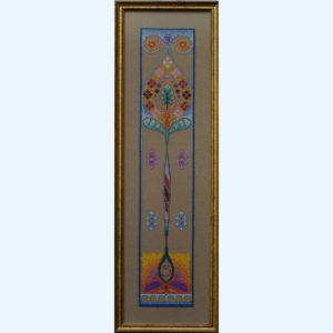 Borduurpatroon Kruissteken Embroidery pattern Cross-stitches Iris B