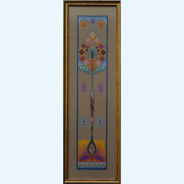 Borduurpatroon Kruissteken Embroidery pattern Cross-stitches Iris B