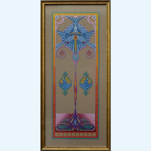 orduurpatroon Kruissteken Embroidery pattern Cross-stitches Iris C