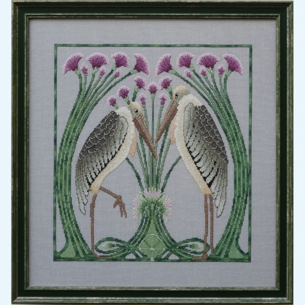 Borduurpatroon Kruissteken Embroidery pattern Cross-stitches In Love