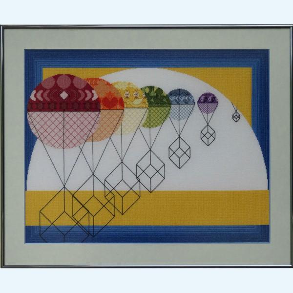 7C Borduurpatroon Kruissteken Embroidery pattern Cross-stitches Balans