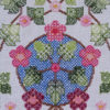 92B Borduurpatroon Kruissteken Embroidery pattern Cross-stitches Blossem B