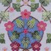 92B Borduurpatroon Kruissteken Embroidery pattern Cross-stitches Blossem B
