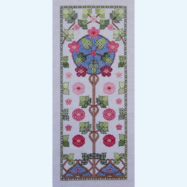 Borduurpatroon Kruissteken Embroidery pattern Cross-stitches Bloesem B