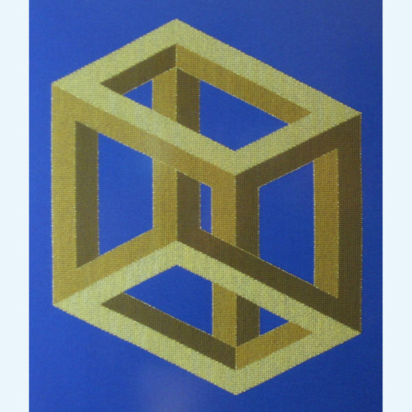 Borduurpatroon Kruissteken Embroidery pattern Cross-stitches Pythagoras B