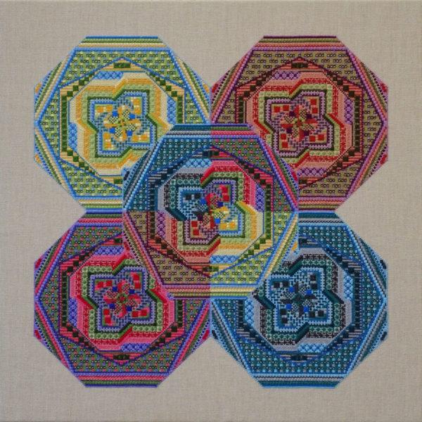 99 A Borduurpatroon Kruissteken Embroidery pattern Cross-stitches Specialstitches