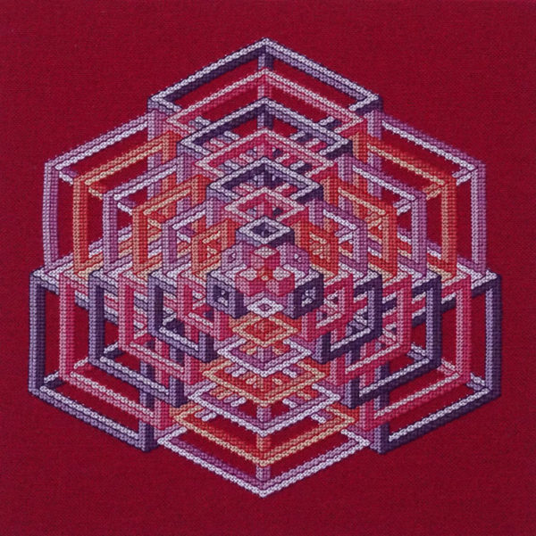 A Borduurpatroon Kruissteken Embroidery pattern Cross-stitches Jupiter