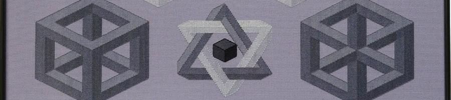 39C Borduurpatroon Kruissteken Embroidery pattern Cross-stitches On-Mogelijk