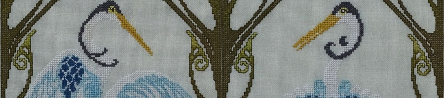 67B Borduurpatroon Kruissteken Embroidery pattern Cross-stitches Adriana A,B,C
